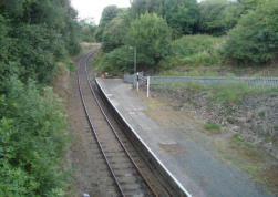 The station at Horsehay on the existing Telford Steam Railway