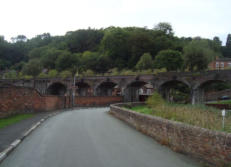 The viaduct in Coalbrookdale