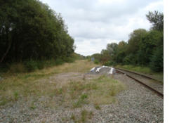 Lightmoor Junction (Lightmoor to left,Madeley to right)