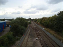 Madeley Junction on the Wolverhampton Line