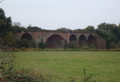 Rail Viaduct South East out of Stourport