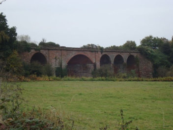 The SVR viaduct South East of Stourport