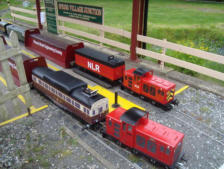 A fantastic miniture railway to ride on and enjoy.