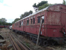 Old Rolling Stock awaiting restoration